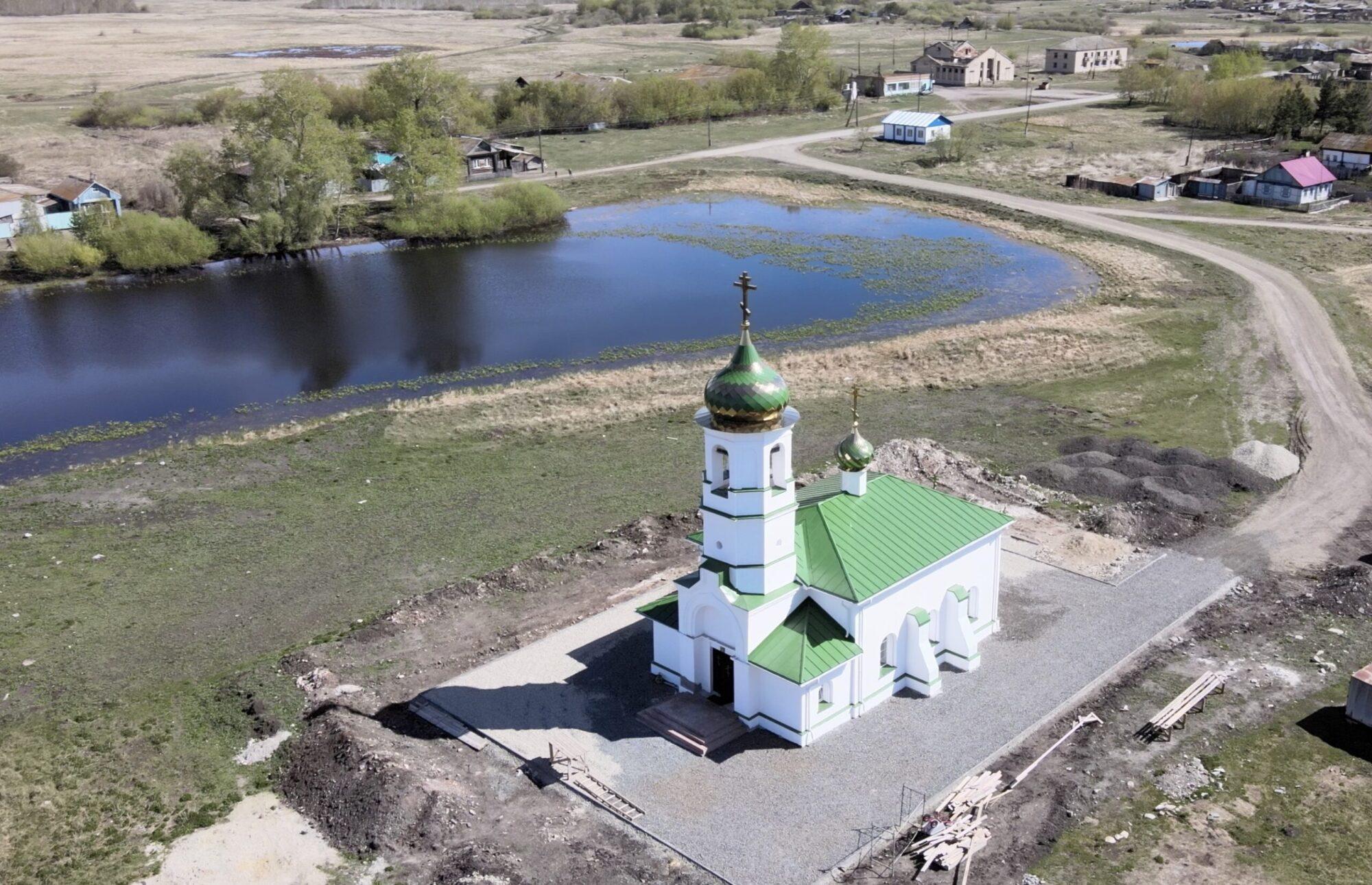 Митрофановская церковь в селе Попово